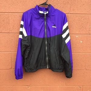 Vintage adidas windbreaker 90s purple
